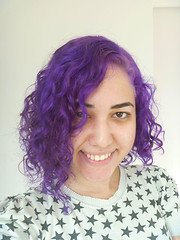 Purple (milenaa) Tags: color hairdye colors girl hair purple candy violet blueberry directions