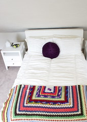 bedroom (fostaaah) Tags: white bedroom decorative crochet pillow blanket homedecor homeinterior