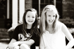 Take 2 :) (austinsGG) Tags: bw beauty canon fun friendship 85mm laughter mythreesons chocolatebw thesemoments photographyskills iheartfaces creativebwkids wearesofunnywecrackourselvesup