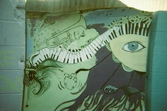 (Verbology) Tags: school film 35mm mural