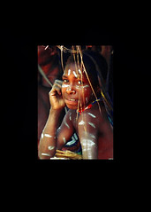 Dani Daughter II - West Papuan Highlands, Melanesia (david schweitzer) Tags: street portrait people woman face feast indonesia highlands paint body daughter culture photojournalism documentary dani tribal clay portraiture southpacific tribe papua ethnic bodyart facial markings grand indigenous context westpapua melanesia art paintedface body south valley irianjaya pigfeast vanishing pacific vanishingcultures cultures jewellery ethnic balimvalley dugumdani grandvalleydani galleryoffantasticshots