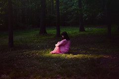 Persephone's Tune (LaRuephotography) Tags: summer portrait fairytale forest self greek spring woods seasons story mythology persephone