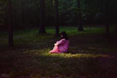Persephone's Tune (LaRuephotography) Tags: summer portrait fairytale forest self greek spring woods seasons story mythology persephone