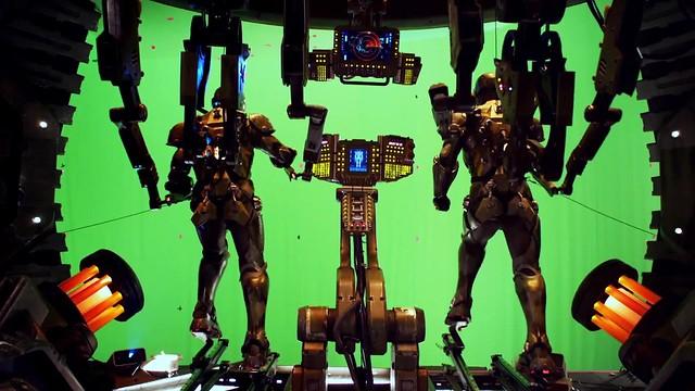 【環太平洋】「巨型機器人」幕後花絮特集