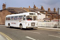 070477 Chester Crosville CRG575 on 850 to London (The KDH archive) Tags: bus chester 1977 ecw crosville bristolre
