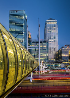 Poplar DLR Station & Docklands Towers