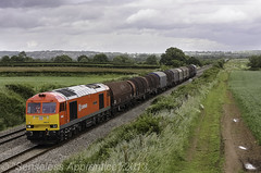 "60019 ""Port of Immingham & Grimsby"" (MSRail Photography) Tags: freight 60 metals dbs class60"