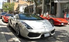 monaco? (Mack K.) Tags: auto red white toronto cars car spider automotive ferrari lamborghini supercar v8 v10 gallardo sportscar combo lambo 458 worldcars