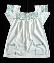Puebla Nahua Blouse Mexico (Teyacapan) Tags: clothing needlework embroidery deer mexican textiles puebla ropa blouses mexicanas venado vestimenta blusas atla nahua