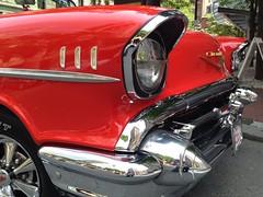 Boston - My DREAM car! - 1957 Red Chevy. (Polterguy40) Tags: boston massachusetts chevy 1957 57 flickr12days