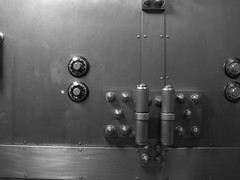 037 (bwiggins55) Tags: white black bank vault safe woolworthbuilding safedepositbox