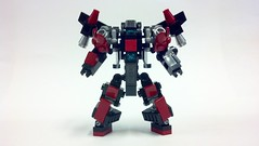 Lego MFZ: VMF-17-2RC Huginn (unarmed) (gatlinggouf927) Tags: mecha mech moc microscale mfz mf0 mobileframezero brickblend
