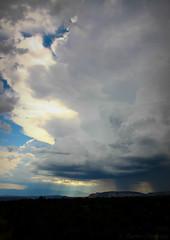 Monsoon Over Northern Arizona (A. Burrows Photography) Tags: arizona monsoon thunderstorm northernarizona coconinonationalforest coconinocounty cumulonimbuscloud