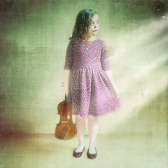 Encore (Skipology) Tags: light portrait painterly art texture girl square 03 violin portraiture curtsy blend iphone curtsey superimpose 2013 procamera lenslight textureblend psexpress prohdr iphoneography snapseed phototoaster moderngrunge