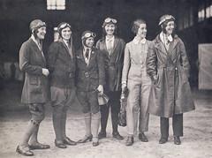 Women pilots - 1930 (Aussie~mobs) Tags: aviation amyjohnson megskelton pilots aviatrix sydney 1930 flight englandtoaustralia aussiemobs