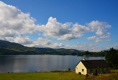 Room With A View (Stephen Whittaker) Tags: house lake mountains tree weather landscape scotland nikon hills loch d5100 whitto27