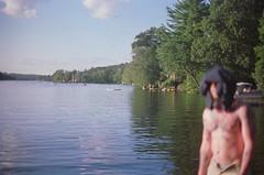 67110017 (ethan_hall) Tags: girls friends boy wild lake male film boys girl k by female contrast 35mm ma fun 50mm gold crazy high pond pentax kodak low think chilling 400 hanging mm 12 mass 35 1000 f12 c41
