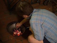 (kasa51) Tags: leica summer japan f14 olympus panasonic custom summilux obon lanternfestival omd 25mm  em5   ceremonialbonfire