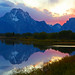 2nd Place - Scenics - Richard Holmes - Mt. Moran Sunset