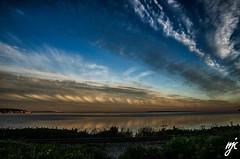 Morning sky (Keylight1) Tags: morning sky nikon mlk railtracks keylight peacearchpark cloudsocean d7000