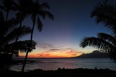 Napili Sunset (Larry Myhre) Tags: sunset hawaii maui napili hawaiiaug2013