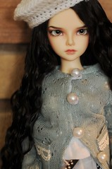 Trying out new outfit~ (Athena Roseanna Tse) Tags: doll elizabeth bjd fairyland lizzy balljointeddoll mnf minifee mirwen