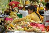 Offering (Bernardo Ricci Armani PhotographingAround.Me) Tags: bali woman indonesia temple nikon offers d800 candikuning bratanlake afszoomnikkor2470mmf28ged purauludanaubratan