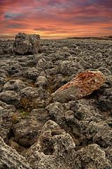 Sunrise in Shabla (Dimityr Chobanov) Tags: sunset sea nature stone sunrise land hdr