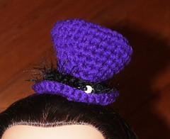 Edyth Counter-Griffis (The Crochet Crowd) Tags: pattern willywonka crochet fans redheart challenge crochetedhat crazyhats tophats hatpattern tallhats halloweenhat newyearsevehat thecrochetcrowd michaelsellick crochetcrowd crochetcrowdtophat redhearttophat freepattren