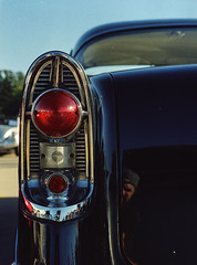 (alienmeatsack) Tags: color cars evening kodak sunday sunny rob bronica portra carshow 400iso etrs zenza southtulsababtistchurch