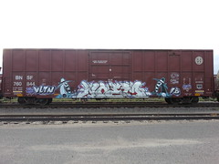 Noem Voltron (Rock Your Face) Tags: minnesota train fb minneapolis boxcar voltron freight noem rollingstock spyvsspy benching vltn flickrandroidapp:filter=none