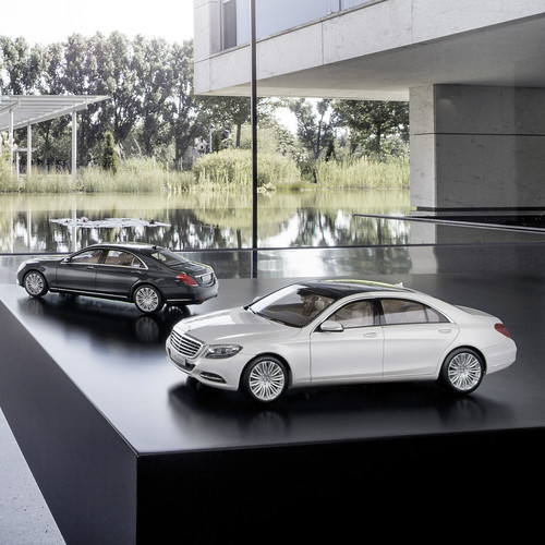 S-Klasse Modellauto, S-Class model car