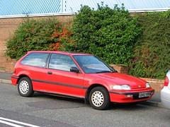 Honda (02) (peter_b2008) Tags: honda civic classiccars
