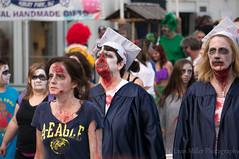 Graduating Class of unDead High (H. Evan Miller) Tags: newjersey zombie sony asburypark jerseyshore nex zombiewalk hevanmiller nex6