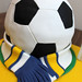 "Football Cake and Billy Bremner Statue by Mandalina Bakery • <a style=""font-size:0.8em;"" href=""https://www.flickr.com/photos/68052606@N00/10640245624/"" target=""_blank"">View on Flickr</a>"