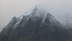 Winter Mountain (Traigh Mhor) Tags: winter mountain snow landscape scotland highlands slioch gairloch rossshire 2013