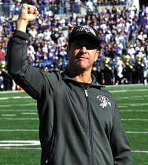 Coach Harbaugh (StateMaryland) Tags: sports field john coach head champs baltimore superbowl harbaugh ravens