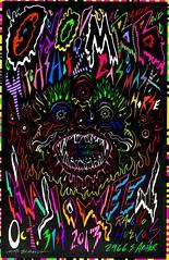 Mac Blackout Band, ONO, Witchshitz, Gas Mask Horse... Halloween 2013 Rancho Huevos Chicago (MaC BLacKOuT...) Tags: halloween graffiti folkart cyclops urbanart popart beast monsters boombox trashart ghettoblaster posterart rockart mutants ono paintedcar juxtapoz avantgarde weirdoart surfart fantasyart mbb junkart crazyart customvan skateboardart punkflyers weirdart psychedelicart droolingbeast halloweenshow tvart punkart chicagoart chicagograffiti modernpopart paintedtv monsterart graffitibabies anthropomorphicart macblackout ranchohuevos rocknrollposterart hiphopart doombox markmckenzie psychedelicposterart halloweenpunk boomboxart mutantart urbanartchicago custompaintedvan macblackoutart paintedboombox paintedalarmclock handpaintedboombox ghettoblasterart 70sfantasyart cyclopspainting avantgardechicago paintedalarmclocks macblackoutboombox macblackoutband onoband onochicago witchshitz gasmaskhorse