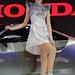 Beautiful, sexy presenter for Honda at the 30th Thailand International Motor Expo 2013