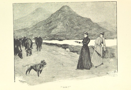"""Image taken from page 65 of 'Through Connemara in a Governess Cart. By the authors of """"An Irish Cousin"""" [i.e. Edith Œ. Somerville and """"Martin Ross,"""" i.e. Violet Martin]. Illustrated by W. W. Russell, from sketches by Edith Œ. Somerville. [Reprinted from """""""