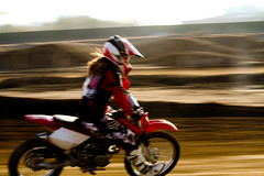 Lexi Wills First time at Milestone MX Park Honda XR100 (GCRad1) Tags: park honda time first wills mx lexi milestone xr100