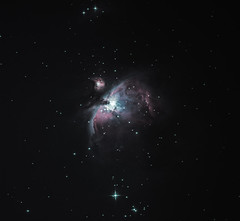 ORION NEBULA (weirdojax) Tags: sky night photography nikon nebula astrophotography orion astronomy skywatcher Astrometrydotnet:status=solved Astrometrydotnet:id=nova193542