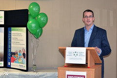Monte congratulates the Business Help Centre of Middlesex County on receiving an Ontario Trillium Foundation Grant
