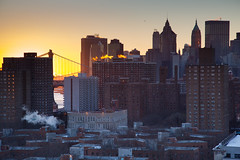 Winter Sunset New York (Patja) Tags: nyc newyorkcity sunset newyork downtown patarnowphoto