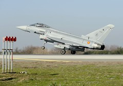 Eurofighter of the Spanish Air Force (Airbus Group) Tags: aircraft military eurofighter combat defence airbusgroup defenceandspace