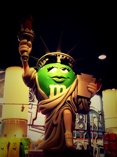 Boutique M&Ms, Times square, New York, USA