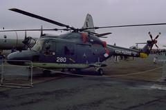 1985-08-07-003FN 280 (BringBackEGDG) Tags: newquay westland lynx stmawgan royalnetherlandsnavy sh14c