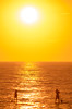 SUP (dexanrj) Tags: sunset woman sun hot sol praia beach girl up sunglasses rio de landscape glasses stand do janeiro paddle paisagem sup óculos quente arpoador pôr