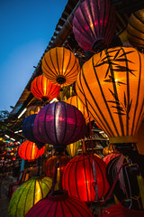 Vietnam - Hoi An Lampions (claudecastor) Tags: city lights asia southeastasia traditional vietnam hoian colourful lampions