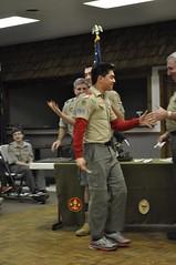 COH Feb 2014  111 (Howard TJ) Tags: camping boy court honor coh scouts merit uniforms awards badges troop scouting bsa 826